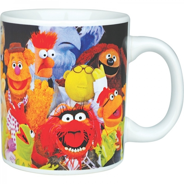 Top 50 Muppets Loc 80: Muppets Characters Mug With Without A Furry Portion Of 80